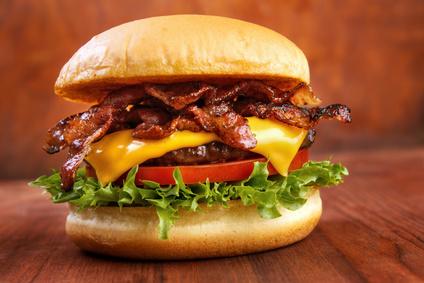 Farmářský hamburger