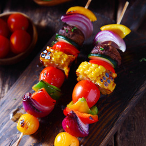 Zeleninový špíz s chutí bylin