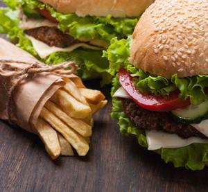 Burger z vepřových jater