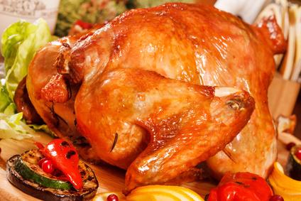 Kuře s jarní zeleninovou nádivkou