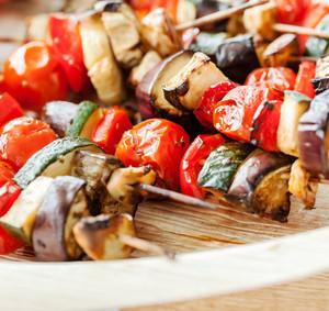 Vegetariánský špíz orientálních chutí a vůní