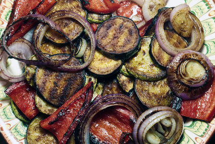 Grilovaná zelenina s kořením