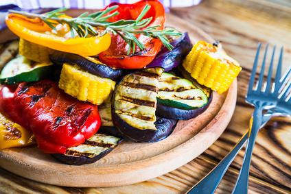 Grilovaná zelenina ve sladkokyselé marinádě
