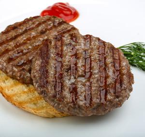 Grilovaný hamburger