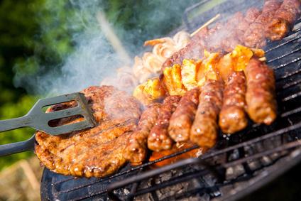 Grilovaný hovězí kebab