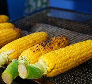 Grilovaná kompotovaná kukuřice