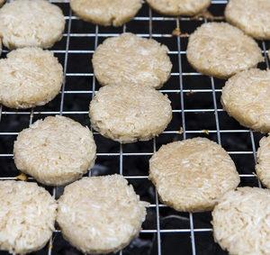 Grilované rýžové placky
