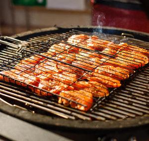 Hořčicovo-manadarinkové steaky
