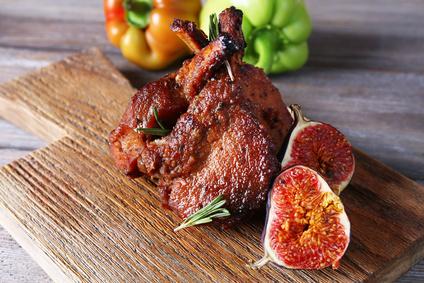 Jehněčí steaky na exotický způsob