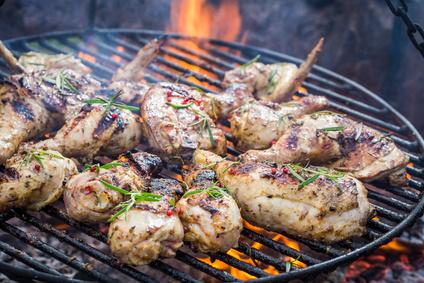 Kuře na ostro s rozmarýnem