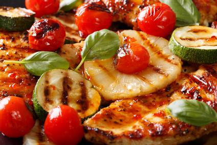 Kuřecí filátka sananasem a zeleninou