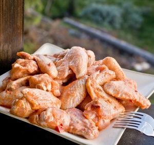 Kuřecí stehna ve sladko-kyselé směsi