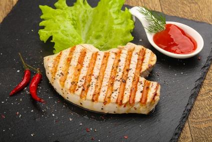 Vepřový steak - plechová huba