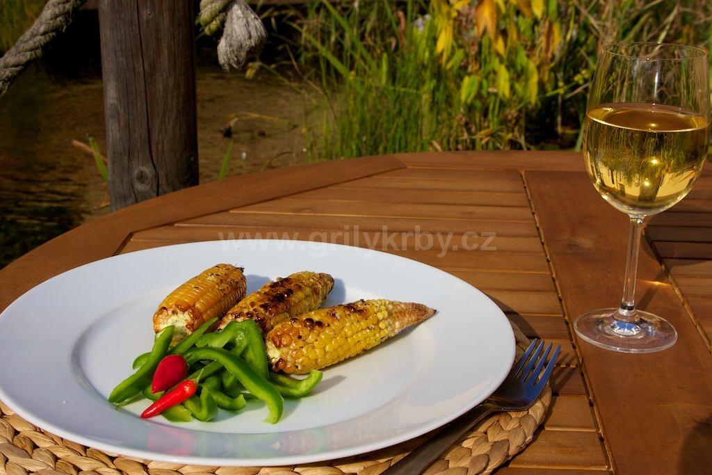 Zakroucená kukuřice